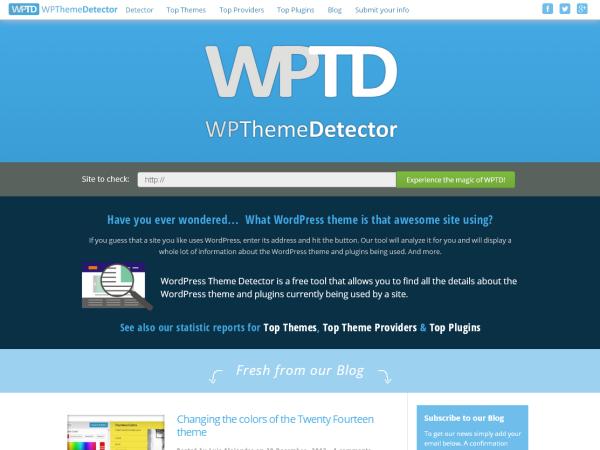 Avada theme Detector